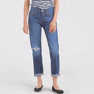 Levi's 501 High Rise Taper Button Fly DD254